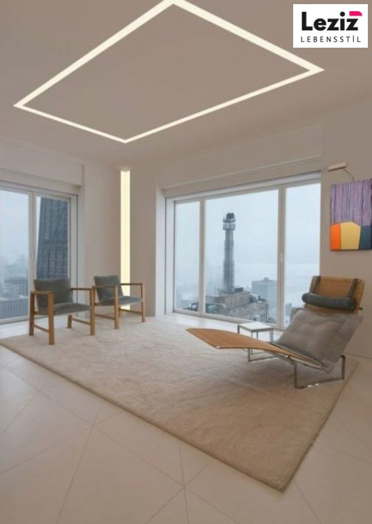 Moderne Led Streifen Decke Licht Design Decken Deckendesign In 2020 Modernes Beleuchtungsdesign Deckenleuchte Schlafzimmer Deckenarchitektur