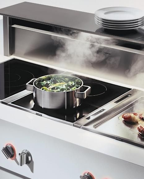 Gaggenau Appliances line of Vario cooktops consists of two ranges of