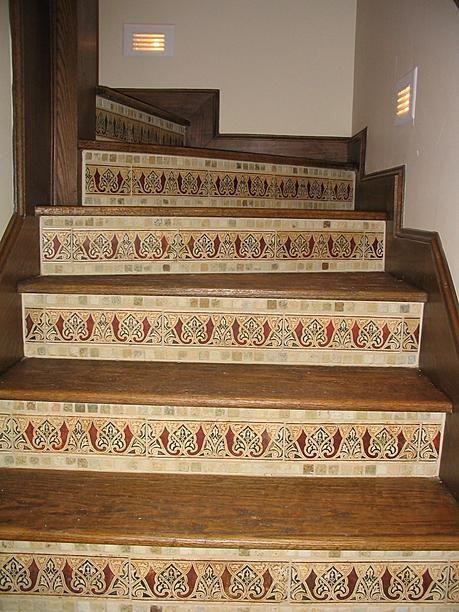 Advice On Tiling Stair Risers Ceramic Tile Forums John Bridge