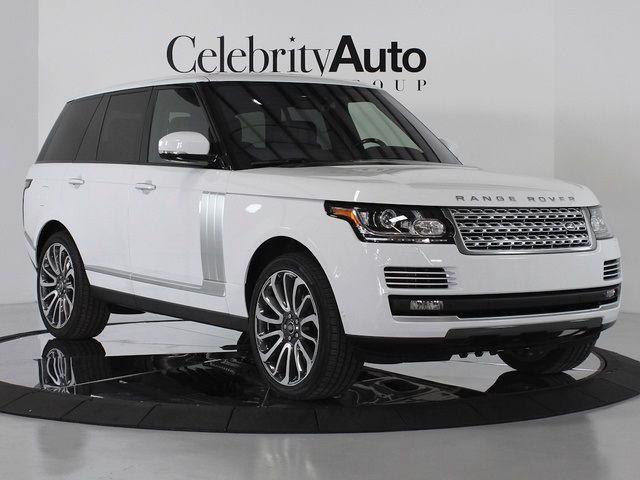 2014 Range Rover Autobiography White Landrover Range Rover Range Rover Land Rover