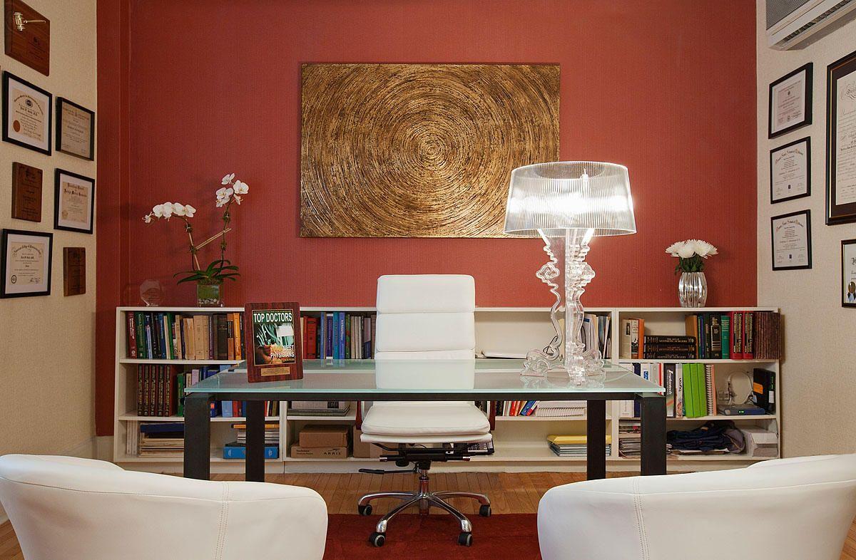 Couleur Peinture Pour Bureau Professionnel aménagement - décoration d'un cabinet médical ou du bureau d