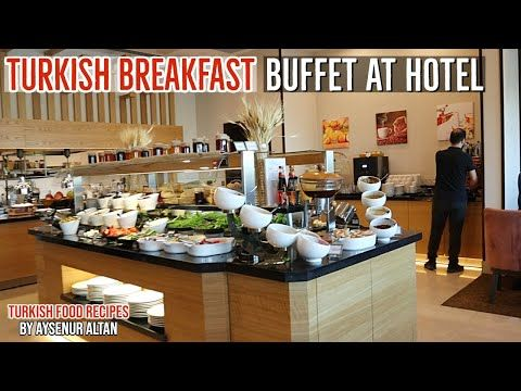 Turkish Breakfast Buffet At Hotel By Aysenur Altan