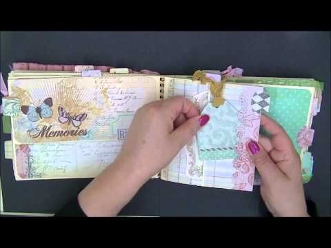 ▶ Mini made from Strathmore Drawing tablet for Carlene - YouTube