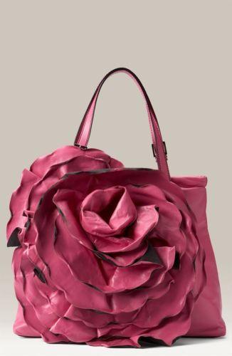 Valentino Garavani Rose Rosette Flower Petale Tote Shopper Bag