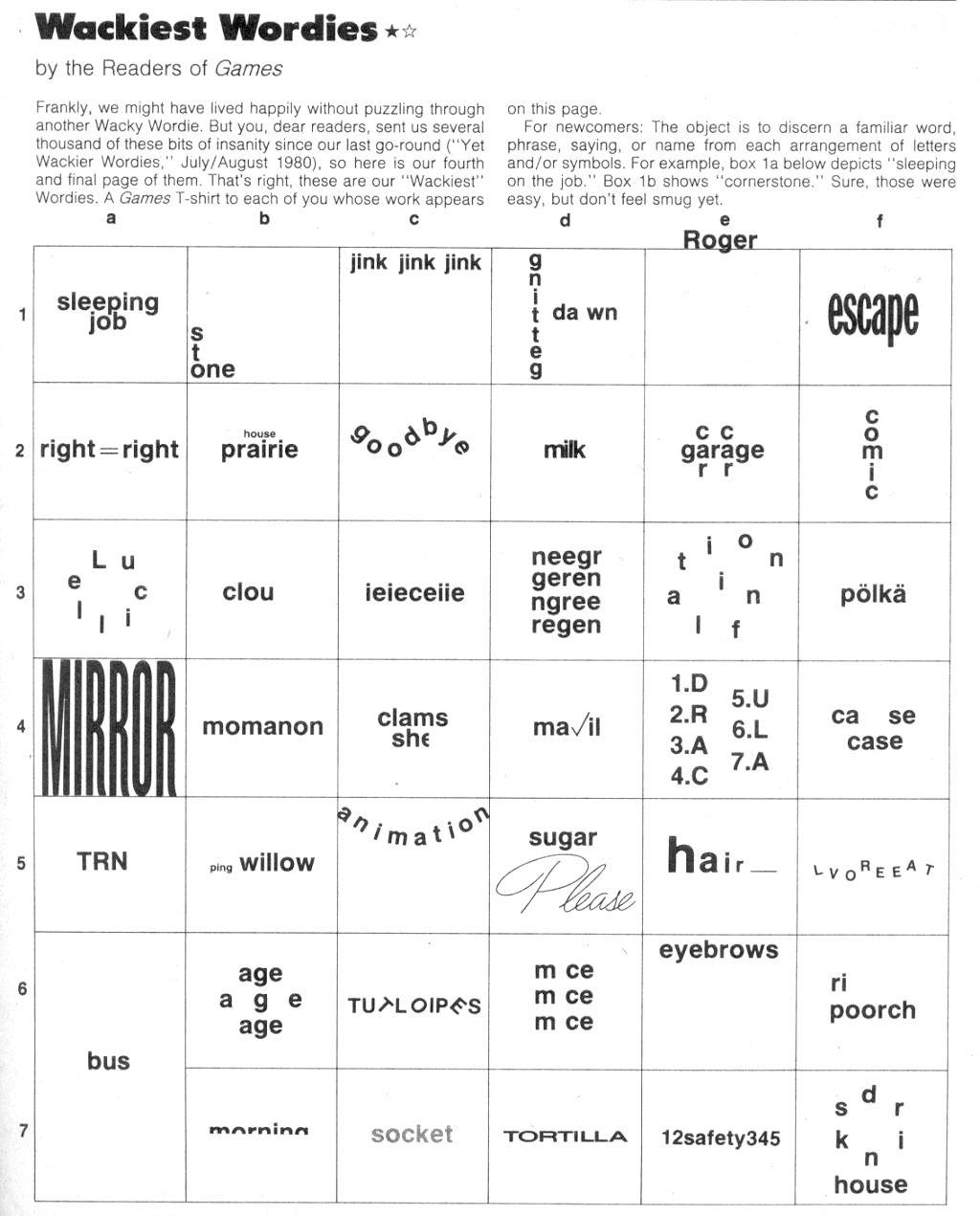 worksheet Rebus Puzzle Worksheets wackie wordies 60 classy pinterest puzzles something to do rebus puzzleslogic