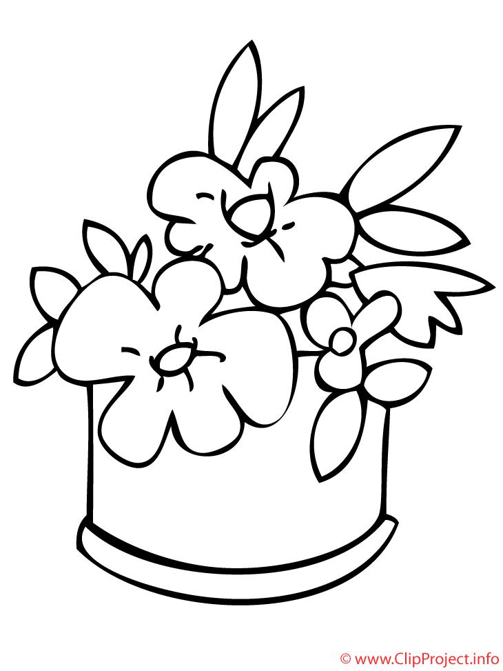 Blumen Ausmalbild Zum Ausmalen Predlohy