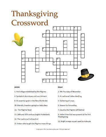 Thanksgiving 12 Puzzle Bundle - PRINTABLE PDF ...