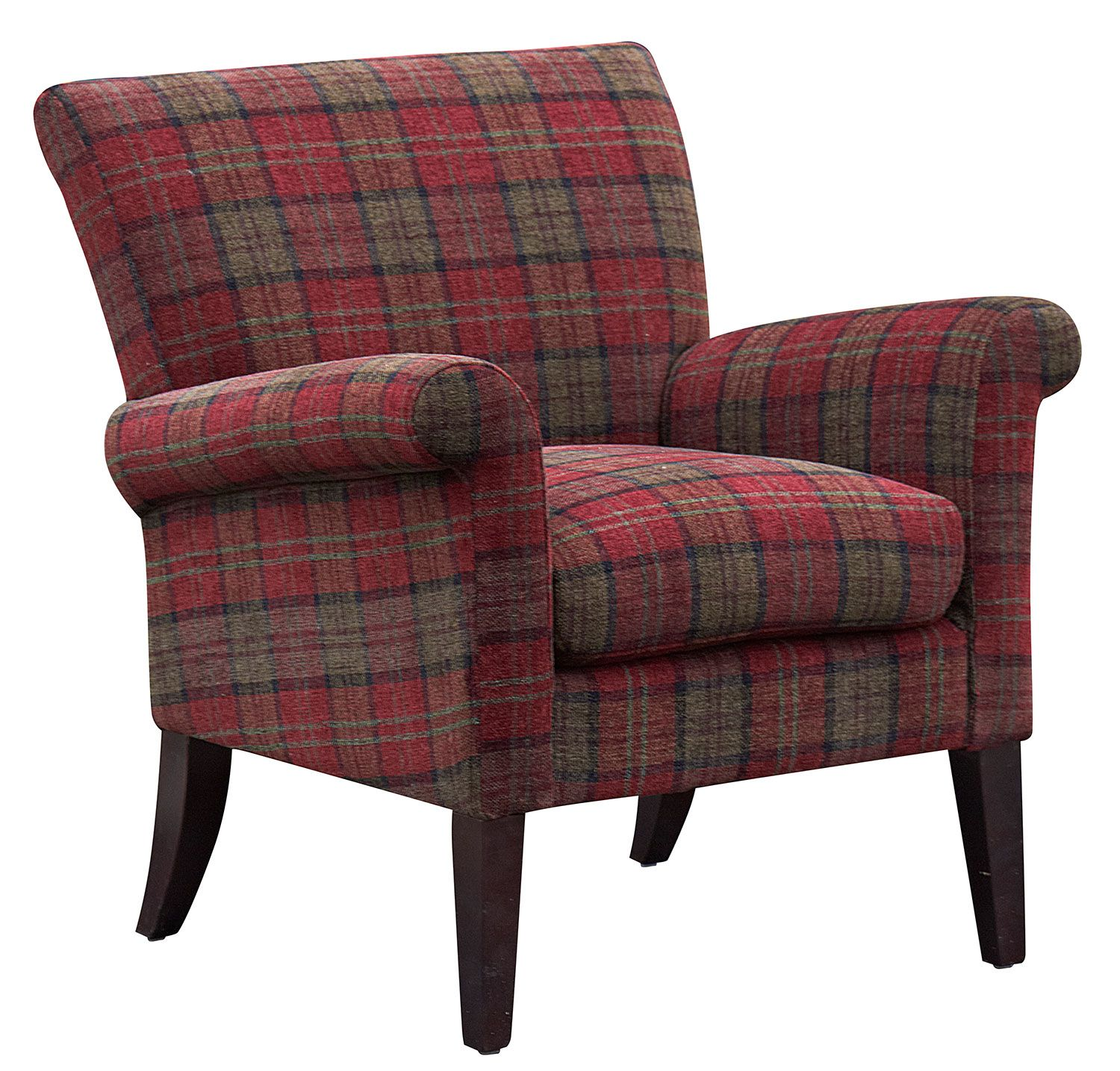The Range Living Room Furniture Buy The Highcliffe Red Tartan Armchair Sofas And Chairs