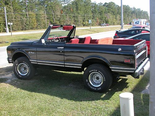 1972 K 5 Blazer W Removable Top I Defy You To Find A Cooler Convertible