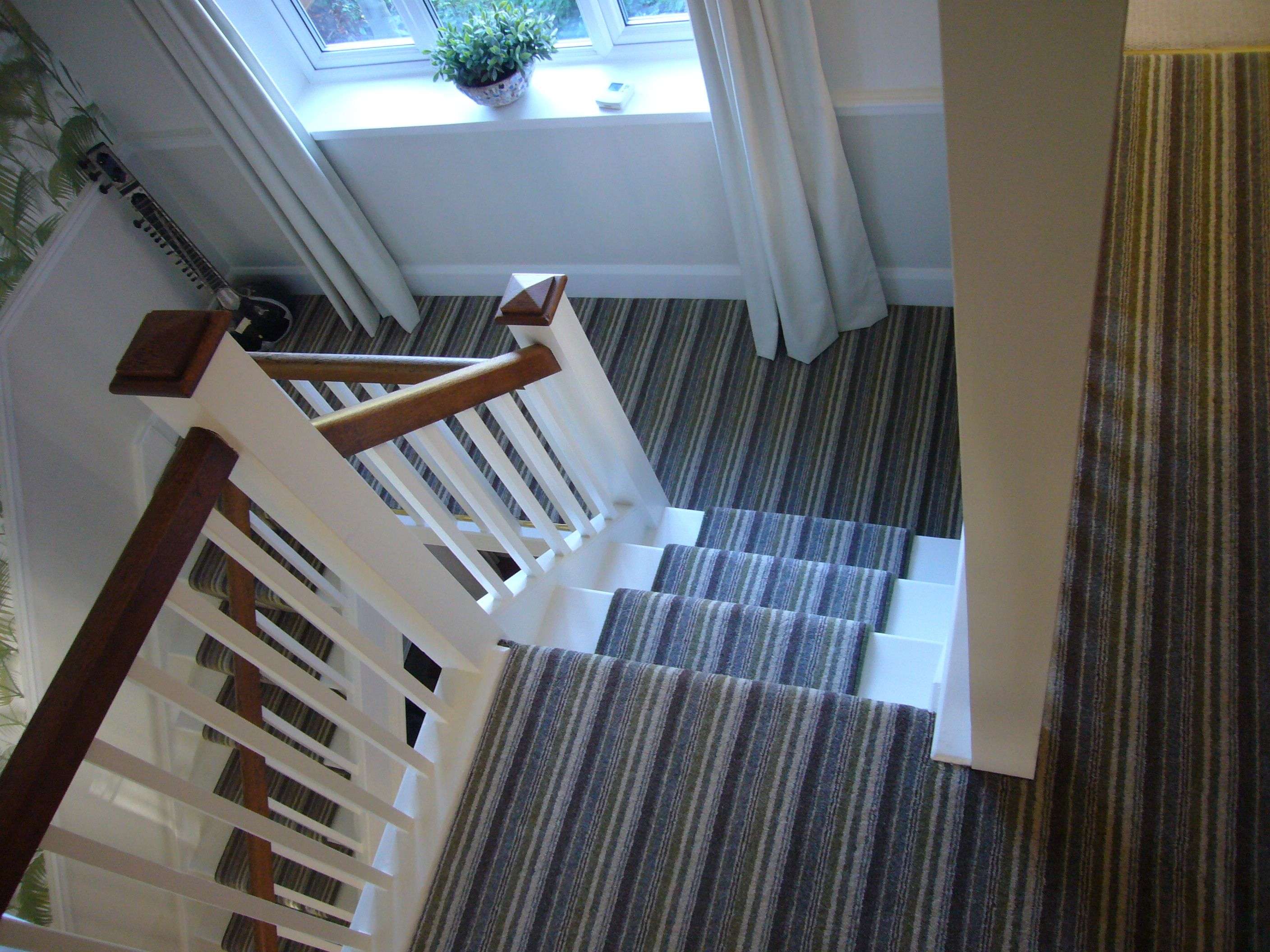 Best Gorgeous Brockways Naples Stripe Carpet Stairs And Landing 400 x 300