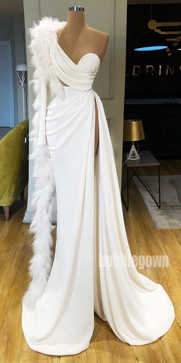 Sexy Simple Affordable Side Split Long Prom Dresses FP1162 – Dress
