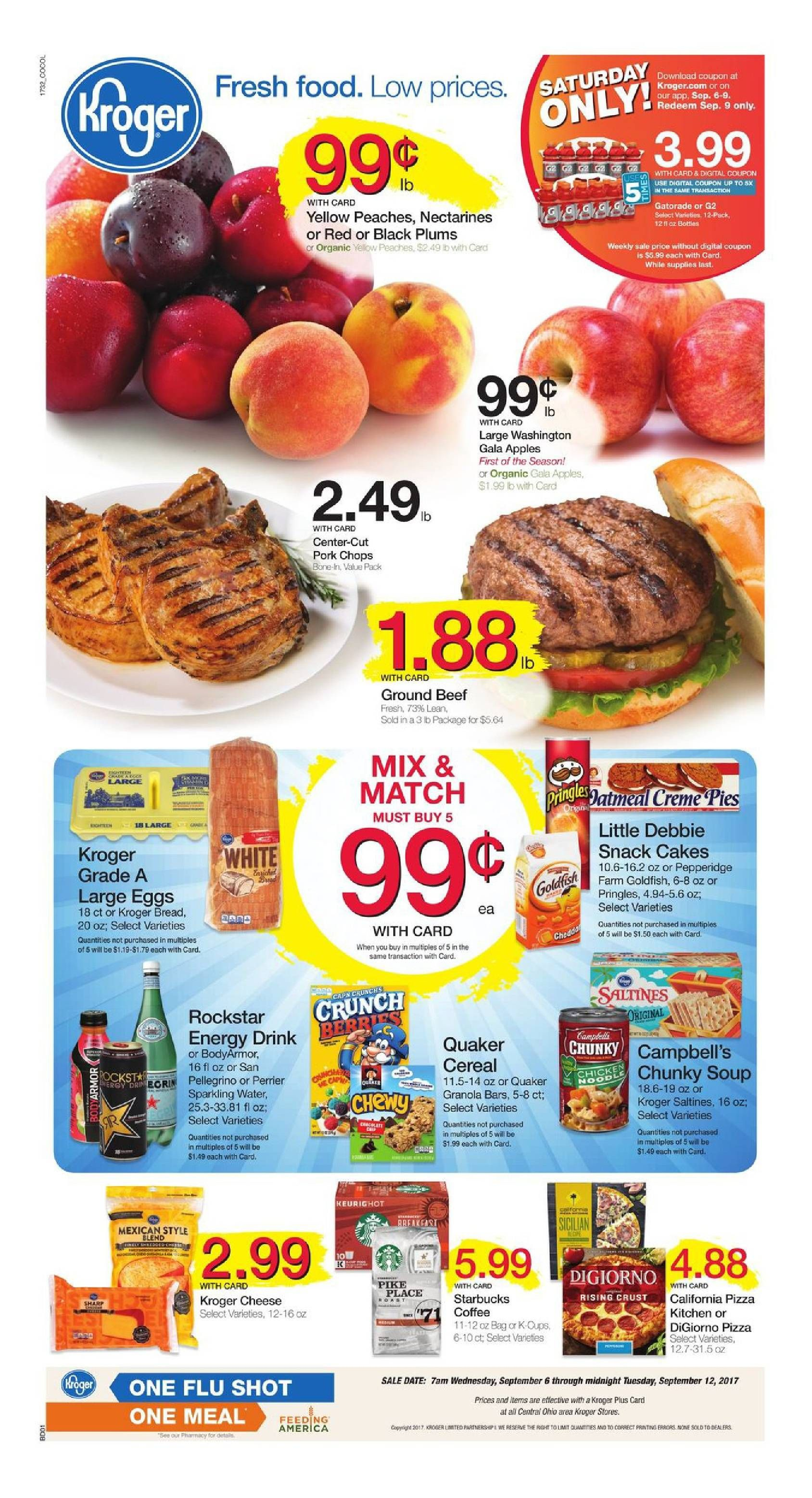 Search Latest Kroger Weekly Ad Here And Find Digital Coupons Free Friday Download Recipe Menu Deli Bakery Latest Promotions An Food Menu Kroger Fresh Food