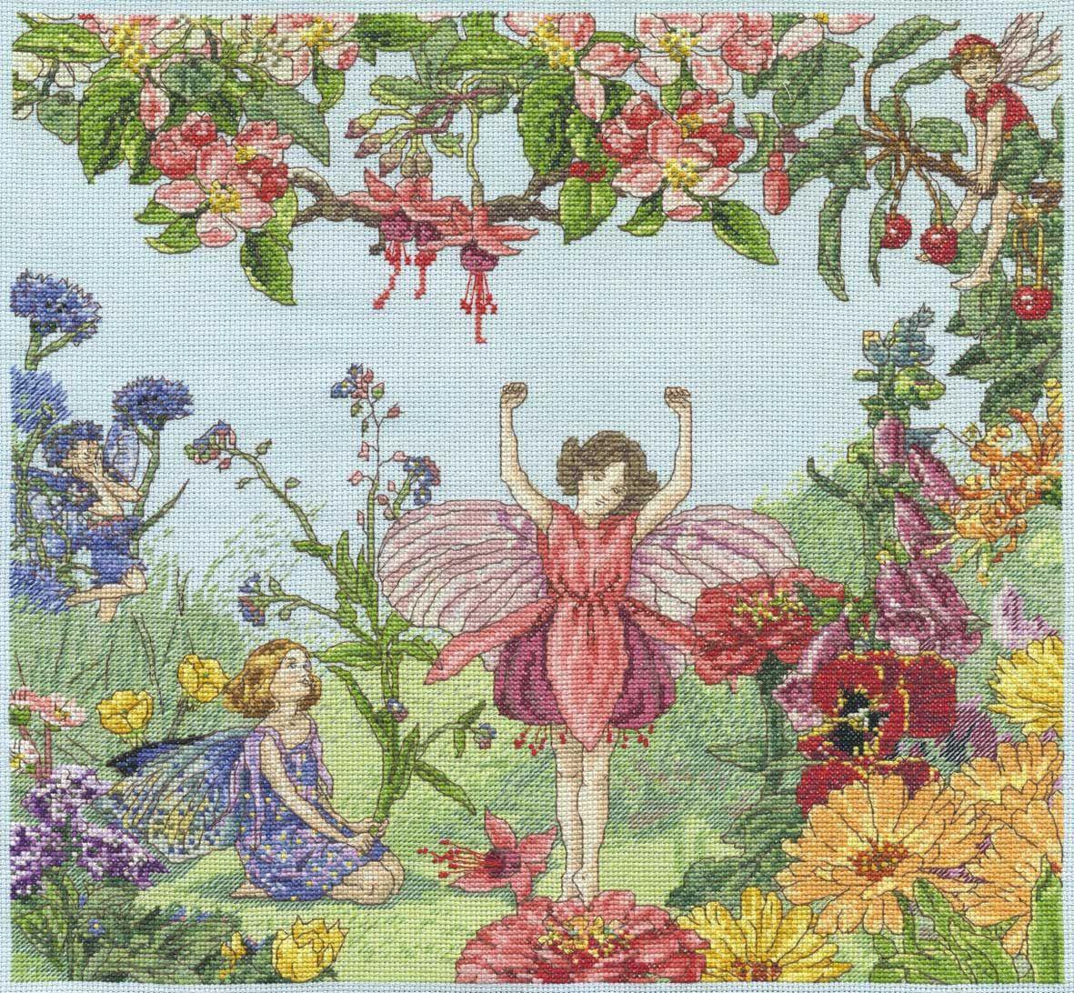 Flower fairies crossstitch kits flower fairies cross