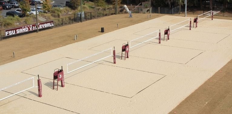 how to build a sand volleyball court