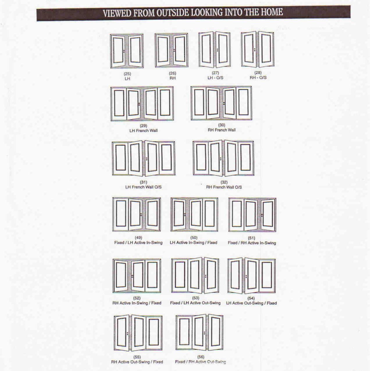 Merveilleux Exterior French Doors Sizes