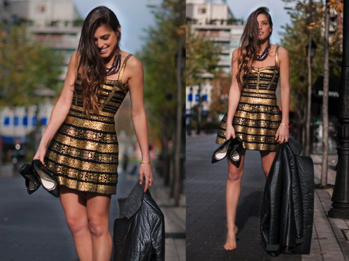 12 black \u0026 gold party outfit ideas http//famecherry.com/