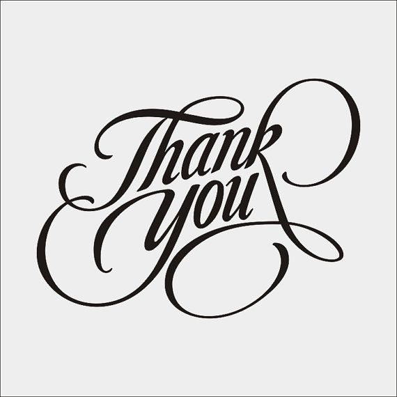 Thank you calligraphy. Clipart svg file png