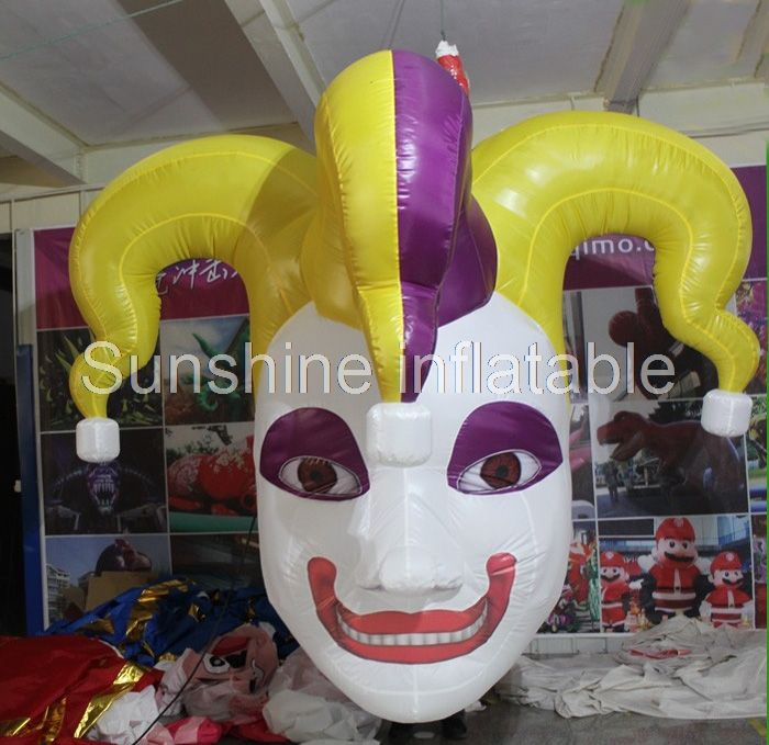 3m giant inflatable halloween decoration hanging inflatable clown - inflatable halloween decoration