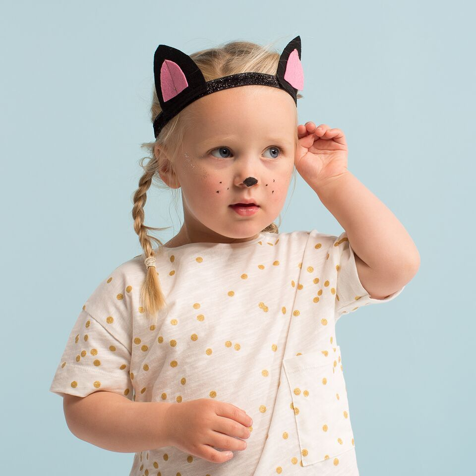 Cat Dress Up Set Cat Dressed Up Cat Ears Tail Halloween