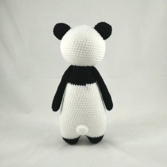 Tall Panda amigurumi pattern by Little Bear Crochet | Ganchillo ...