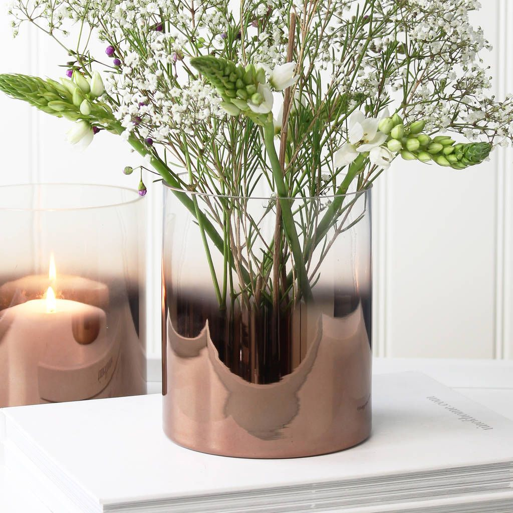 Copper glass vase glass copper kitchen and kitchens are you interested in our copper glass vase with our ombre vase you need look floridaeventfo Gallery
