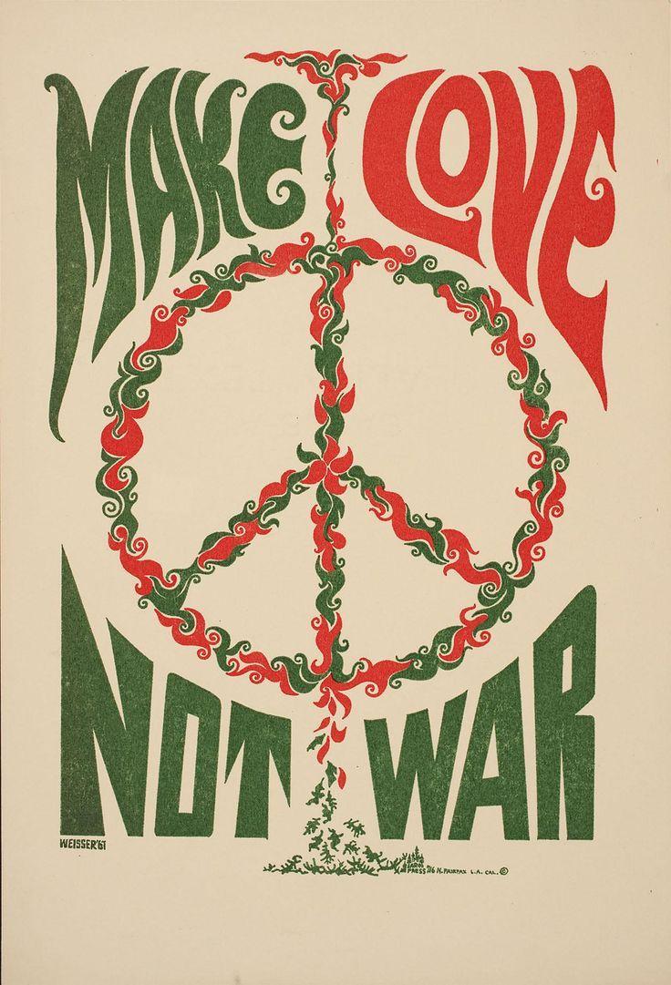 Weisser Hippie Zeit Frieden Und Liebe Hippie Bewegung