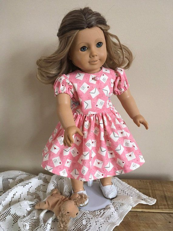 """Fairy Dress For 18"""" Doll Fits American Girl and Our Generation Dolls."""