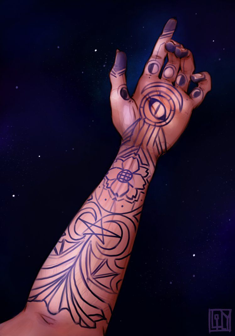 Feyre S Tattoo By Lilyluxe Deviantart Com On Deviantart With