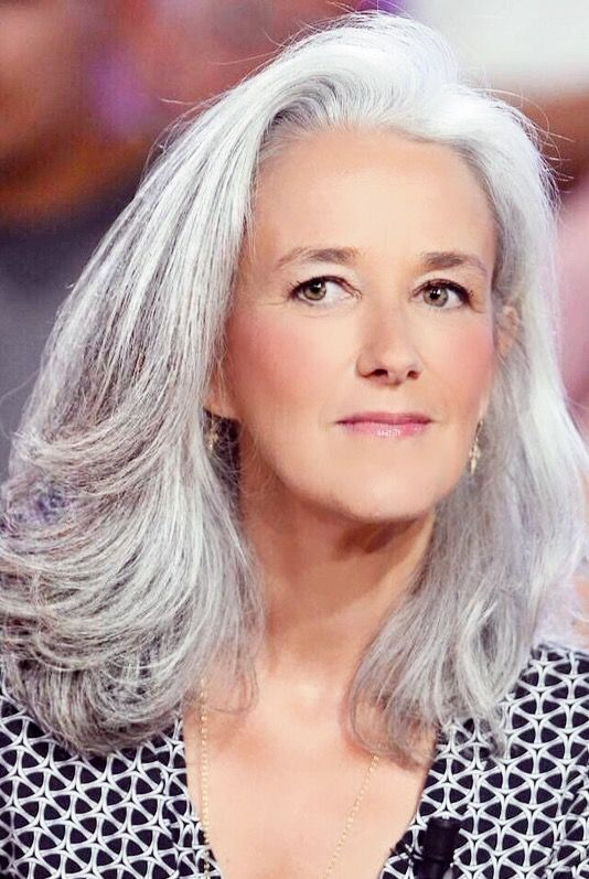 hair granny Grey