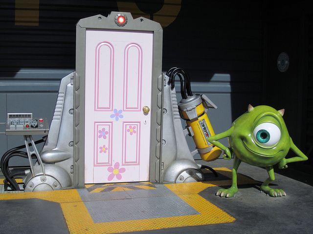 Boo S Door Monsters Inc Minecraft Skin Monsters Inc Doors Monsters Inc Monsters Inc Decorations