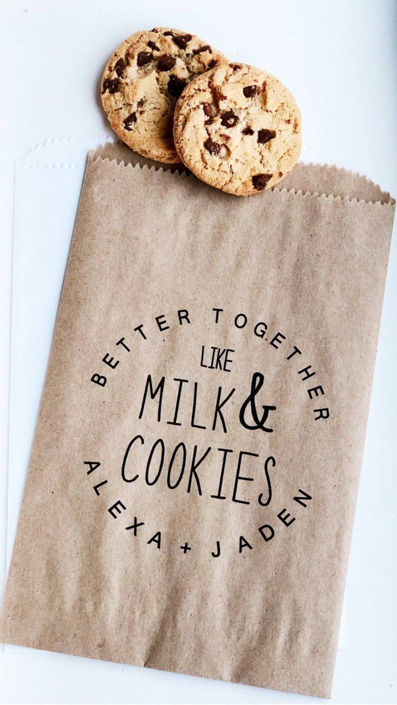 Bridal Shower Cookie Bags Wedding Favor Bags For Cookie Bars Etsy In 2020 Wedding Cookie Bar Bags Cookie Bar Wedding Bridal Shower Cookies