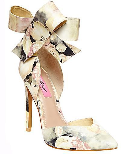 Photo of Shoe of the Day | Aminah Abdul Jillil Ribbon Bow Pumps – Shoe Addiction