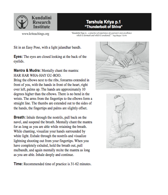 kundalini yoga kriya for sciatic nerve pdf