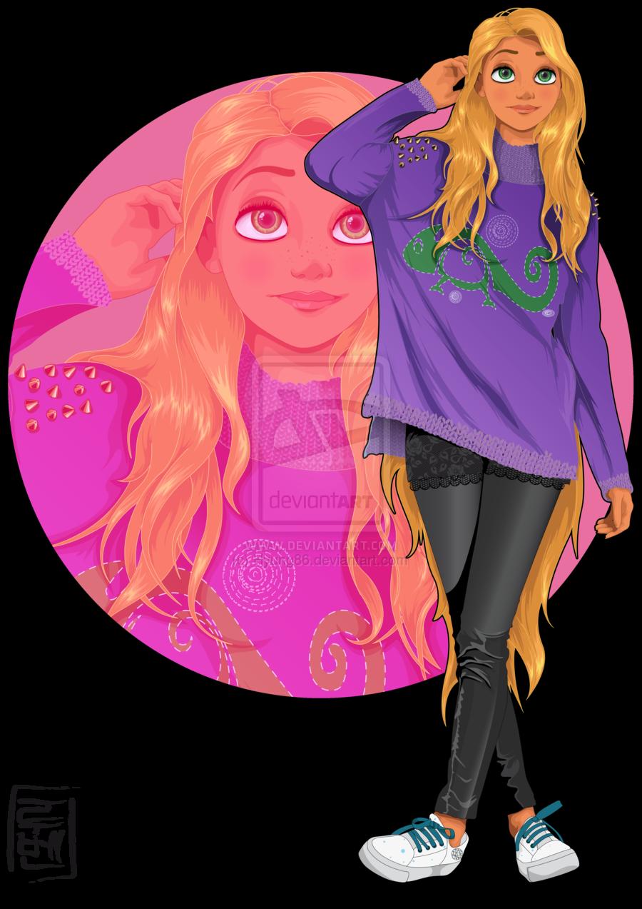 Modern Disney Characters - Rapunzel