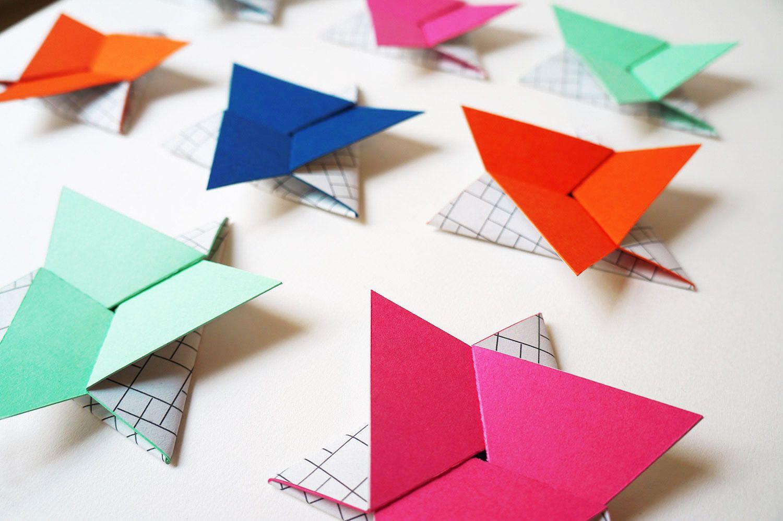 Hello NORA RENAUD DESIGN PACKAGING Carte De Visite Cartes En Origami Concept