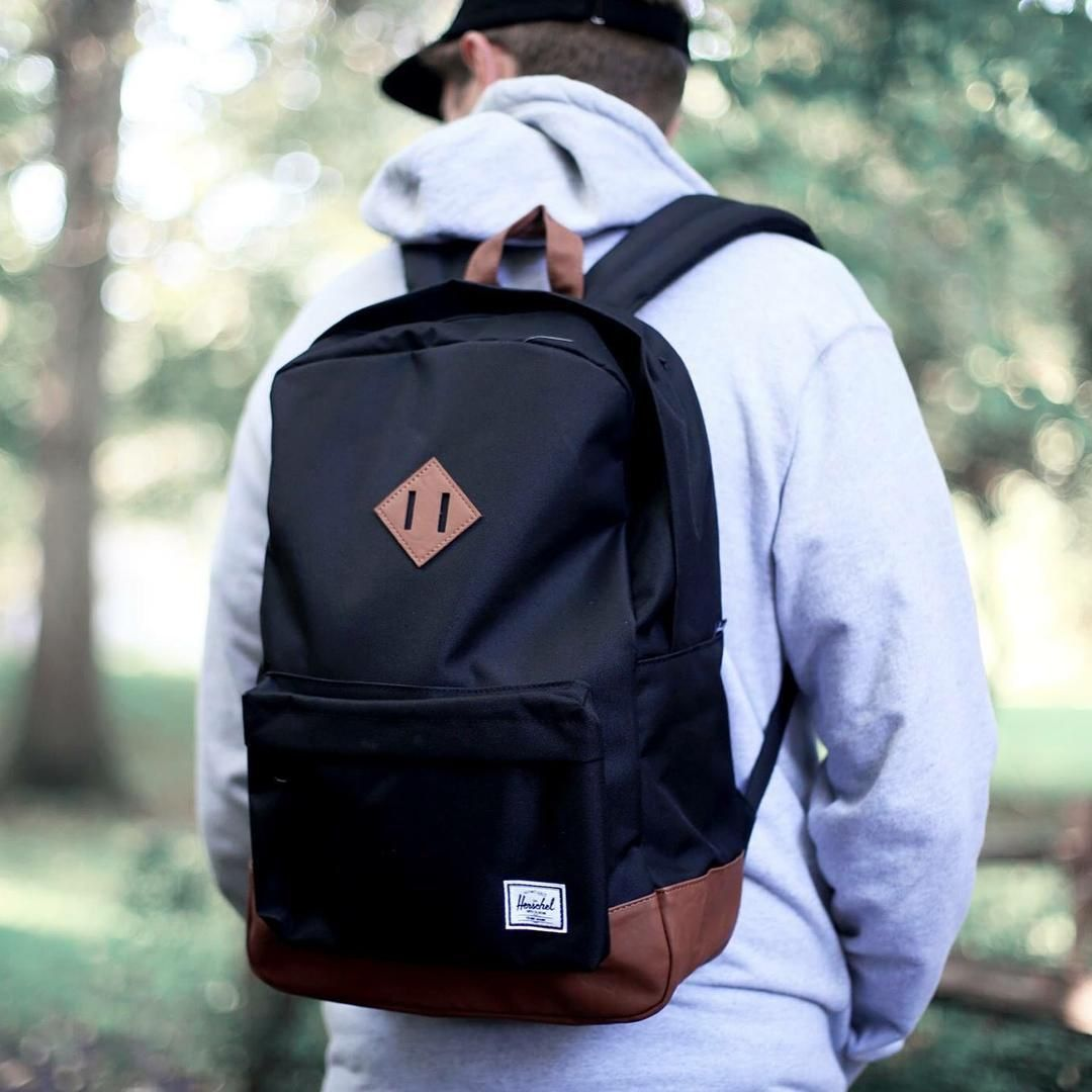 The Heritage Backpack, styled by you.