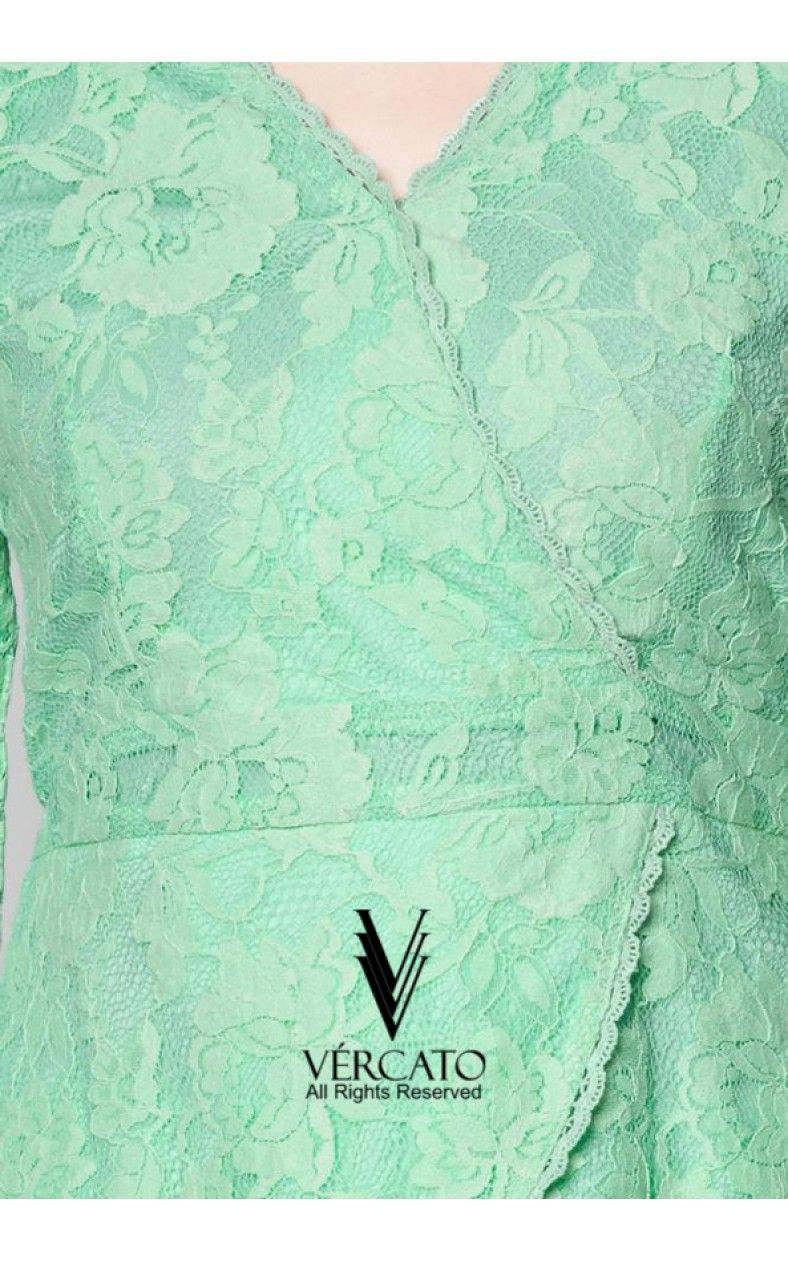 Pin By Ihsan Zulkipli On Baju Ideas To Make Pinterest Kurung Mint Green And Lace Trim