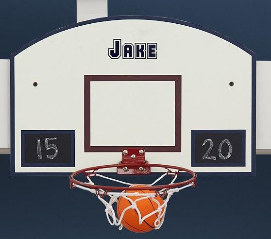 Personalizable Basketball Hoop  Pottery Barn Kids  Kid Toys Glamorous Basketball Hoop For Bedroom 2018