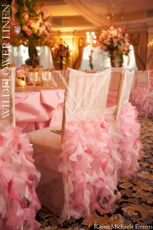 Chair Covers Michaels How To Upholster A Dining Room Photo Inspiration Gallery Projects Try Wedding Iridescent Taffeta Charlotte Cotton Candy Linen Curly Willow Light Pink Cover Courtesy Of Karyn Michael Events