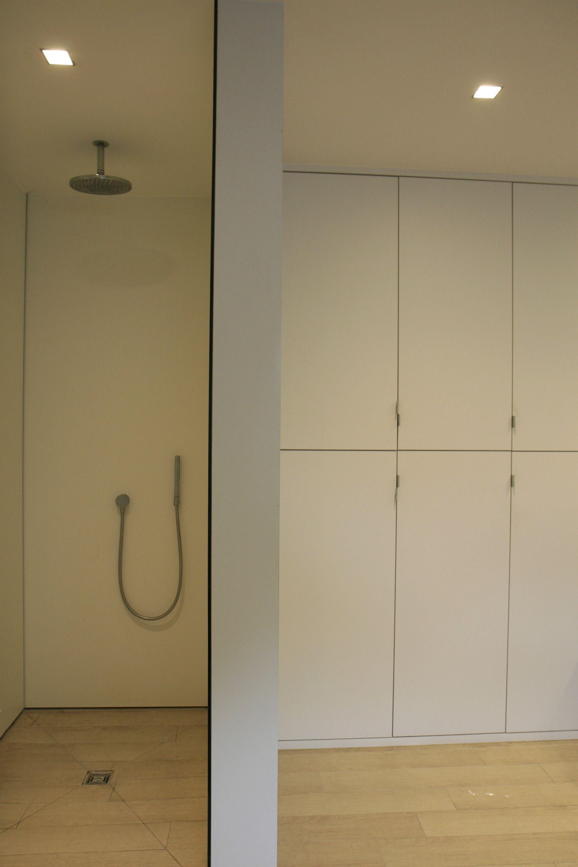 douche in volkern vloer keramische parket | my interior projects ...