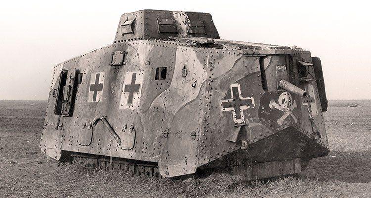 """Bildergebnis für Sturmpanzerwagen A7V woland"""""""