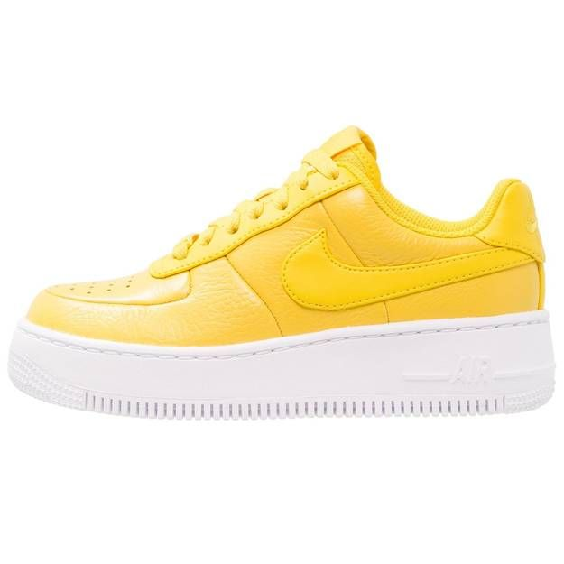 nike air force 1 femme moutarde