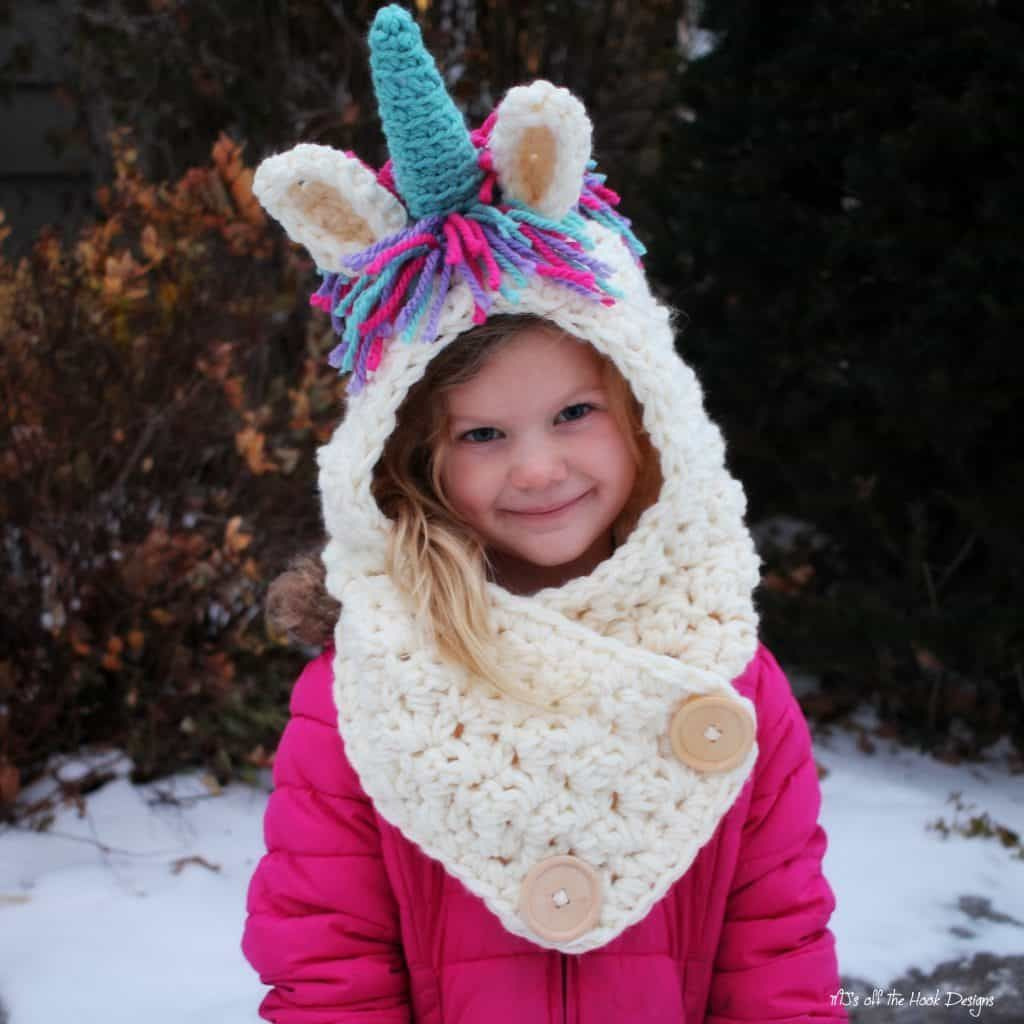 Unicorn crochet pattern the best collection hooded cowl unicorn crochet pattern the best collection bankloansurffo Images