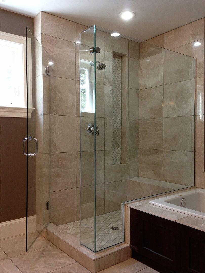 Frameless Corner Shower Enclosures Corner Shower Enclosures