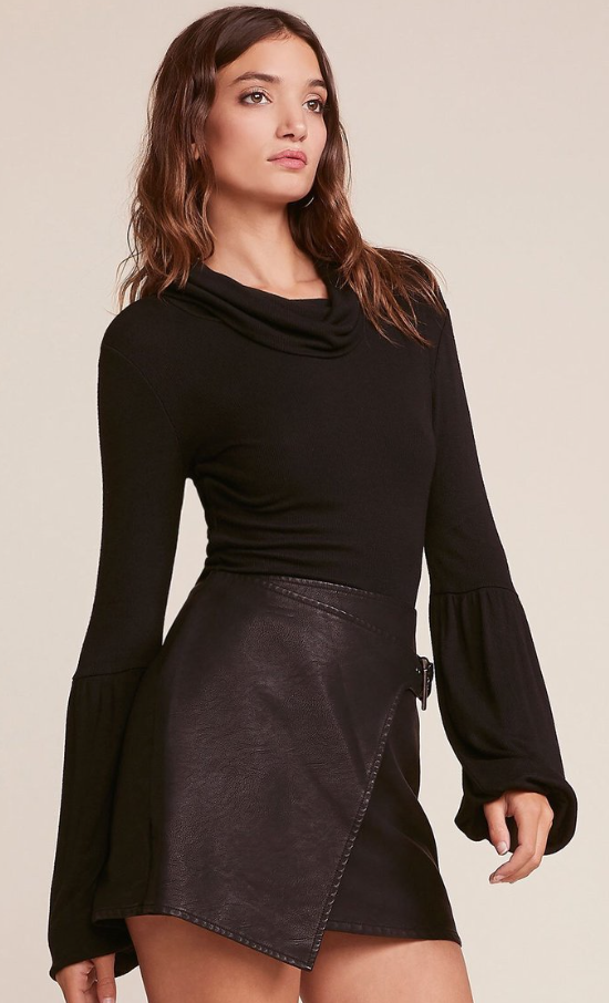 Jack by bb dakota: fashion killa faux leather skirt #fashionkilla