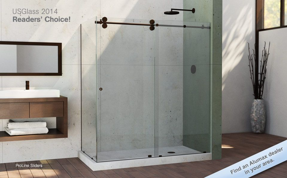 this is it! - Alumax | Bathroom Remodel | Pinterest | Shower doors ...