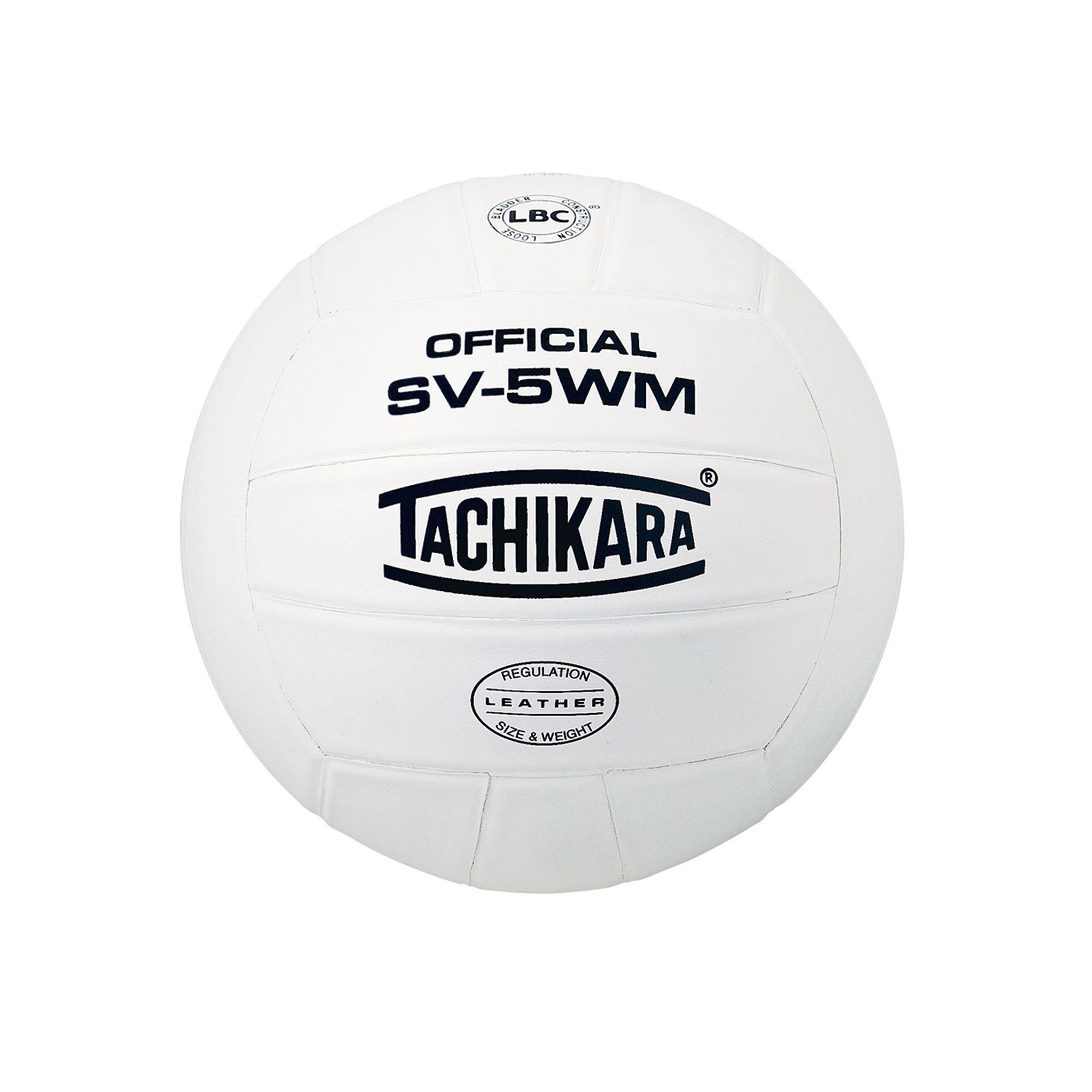Tachikara Official Sv5wm Premium Leather Volleyball White Volleyballs Indoor Volleyball Volleyball Set