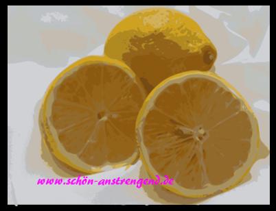 Die Gelbe Zitrone