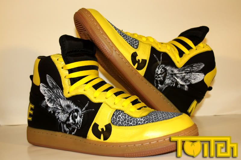 best service 36234 cecd2 Wutang Nikes   Shoes   Sneakers, Sneakers nike, Wu tang