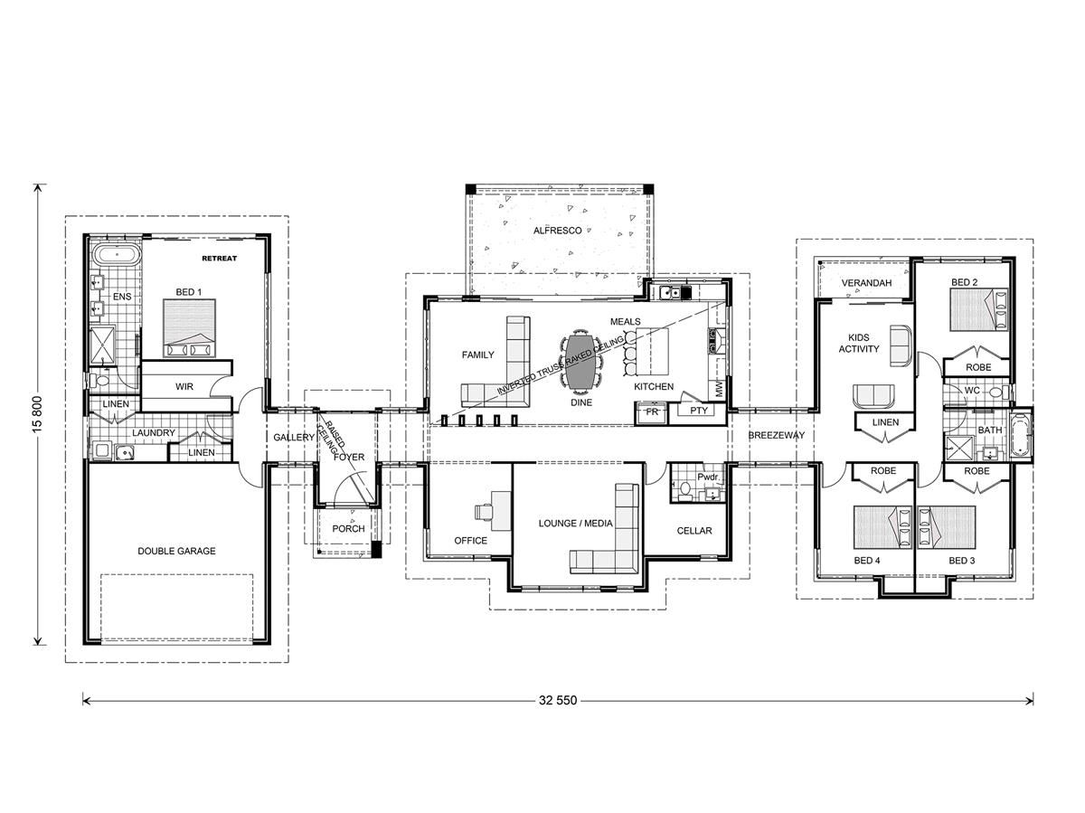 Rochedale 320 prestige home designs in queensland gj for Gardner flooring